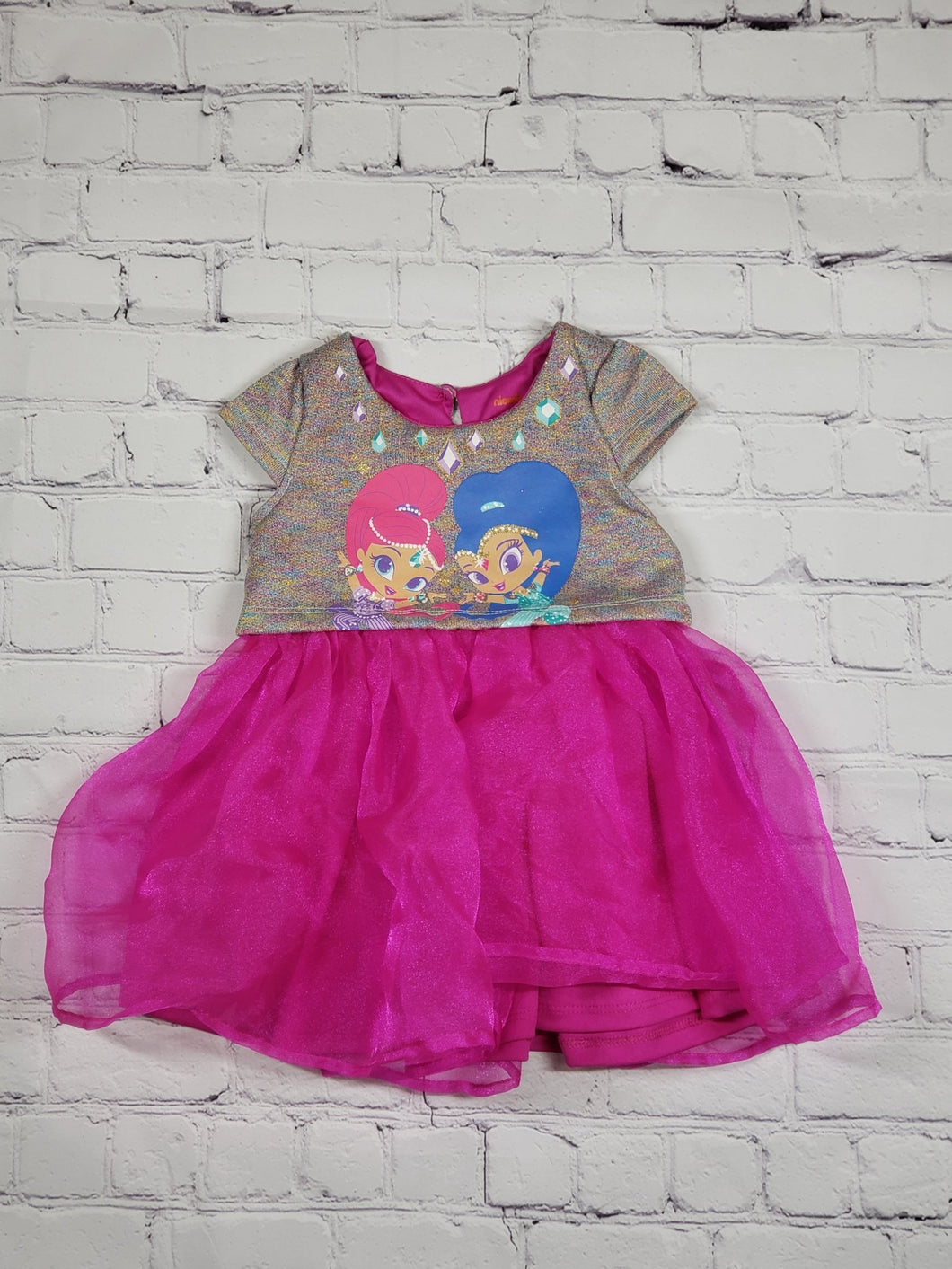 Shimmer & Shine Top (used) - LilChic BabyBug Boutique LLC