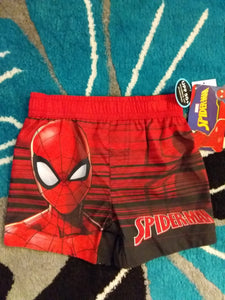 Spiderman Swim Trunks - LilChic BabyBug Boutique