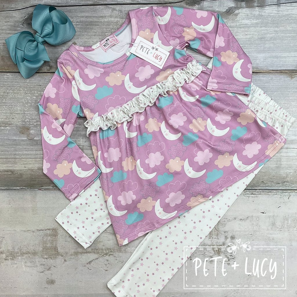 Sweet Dreams Pant Set - LilChic BabyBug Boutique LLC