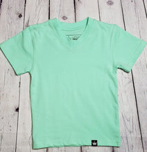 Load image into Gallery viewer, Teal Short Sleeve Tee - LilChic BabyBug Boutique LLC