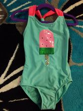 Load image into Gallery viewer, Turquoise Ice Cream  One Piece - LilChic BabyBug Boutique