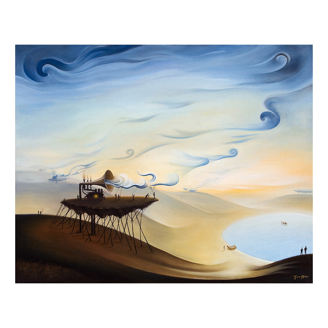 "Cloud Makers, 30x24"" Oil Painting"