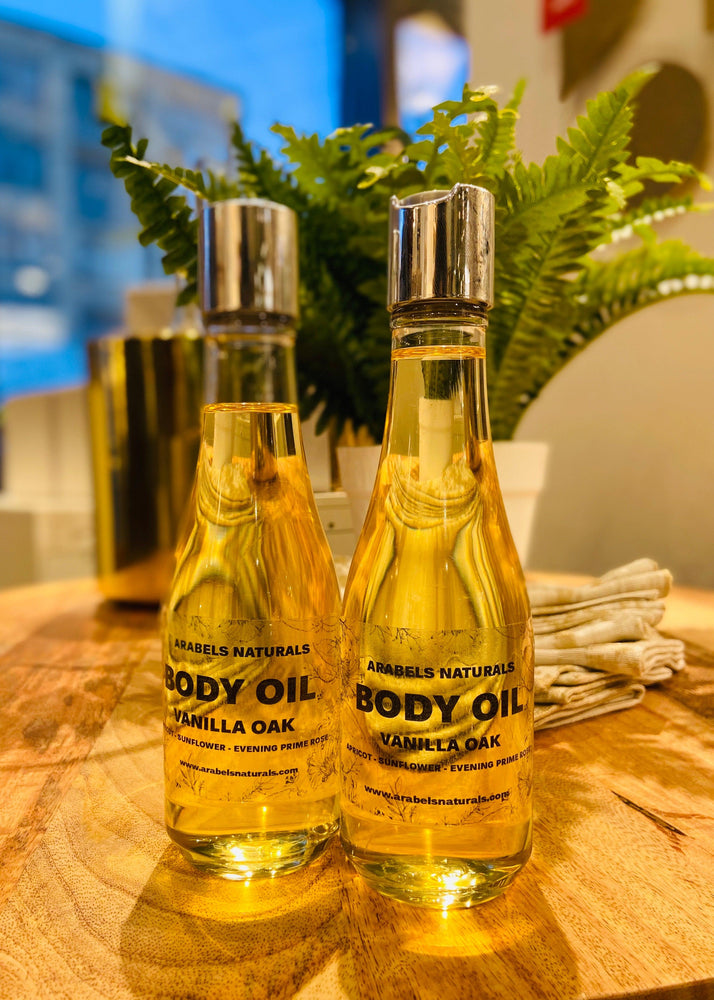 NATURAL BODY OIL / SCENTED