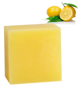 Turmeric Kojic Acid Soap, with Real Lemon Juice - ARABELS NATURALS
