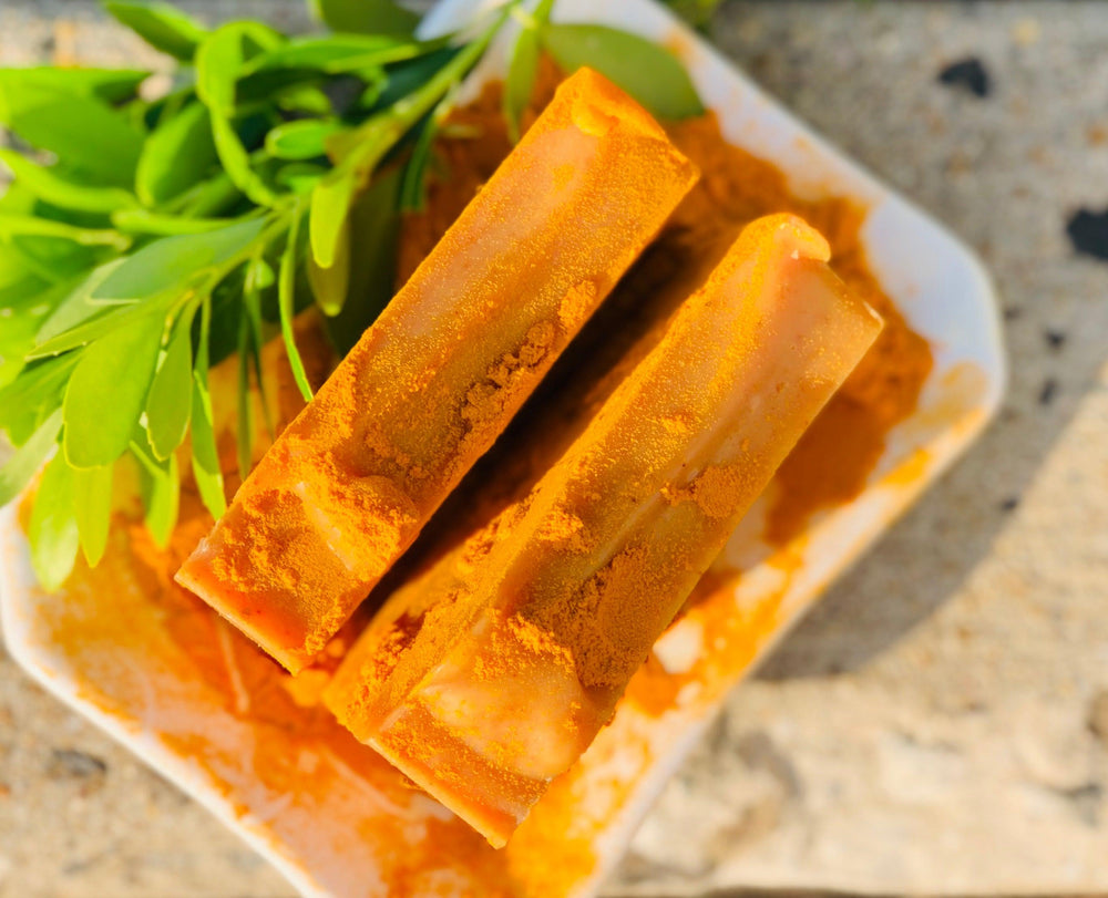 TURMERIC  SANDALWOOD SOAP
