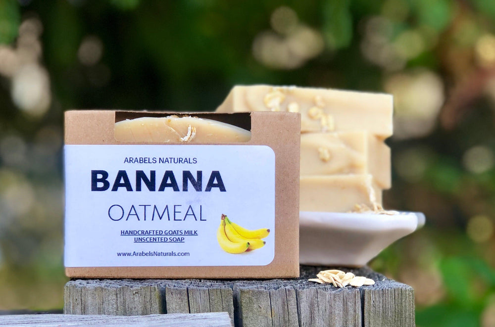 BANANA OATMEAL HONEY SOAP