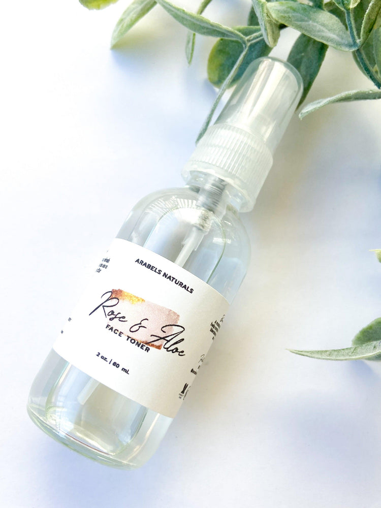 Rose Aloe Toner / 2 Oz - ARABELS NATURALS
