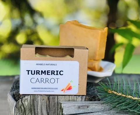 TURMERIC CARROT SOAP