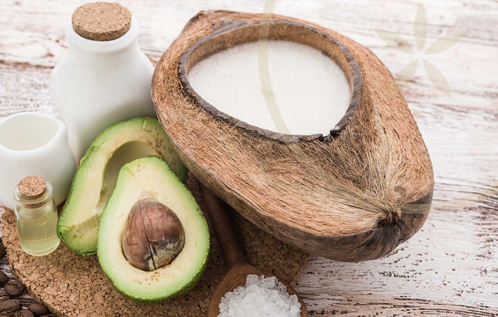 Natural Remedies For Psoriasis And Eczema: Coconut oil and avocado