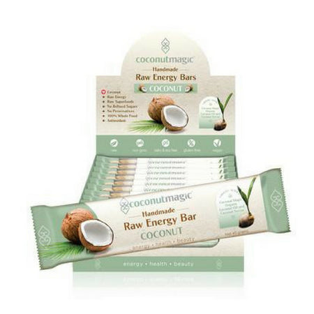 Coconut Magic Raw Energy Bars Buy Now