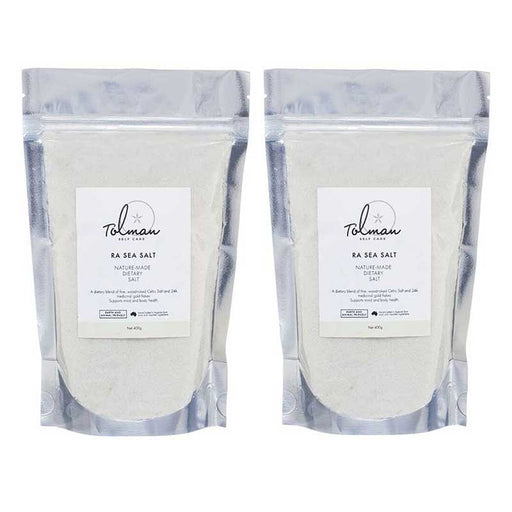 Ra Sea Salt Twin Pack Tolman Self Care
