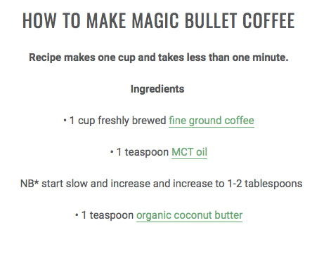 The Magic Bullet Pack Coconut Magic