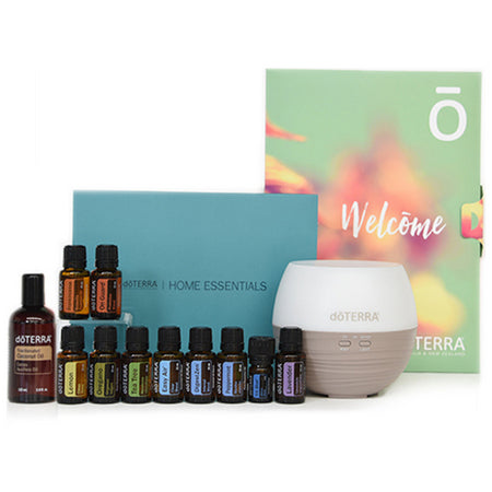Home Essentials Kit with Fractionated Coconut Oil, Petal Diffuser & Wholesale Account | dōTERRA