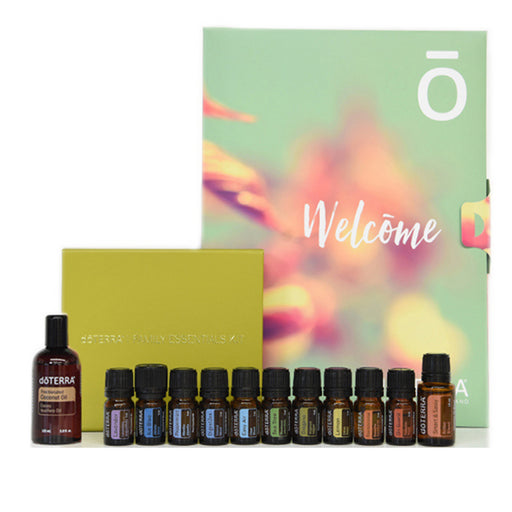 Family Essential Kit with Free Smart & Sassy, Carrier Oil & Wholesale Account | dōTERRA