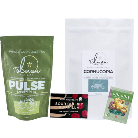 Travel Snack Pack pulse cornucopia gingin