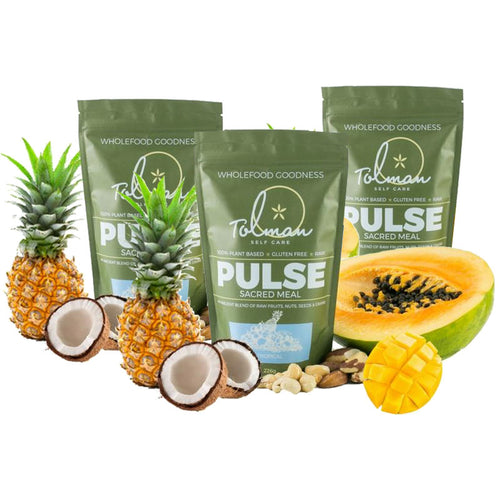 Pulse Tropical Triple Treat (3 x 226g packs) Sacred Meal
