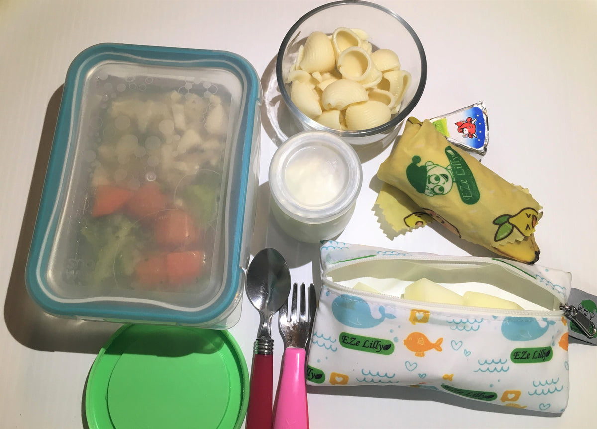 How do we pack a Less-Waste School Lunch?