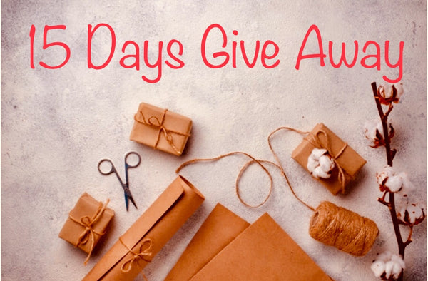 Challenge Accepted: 15 Days Gift Give Away