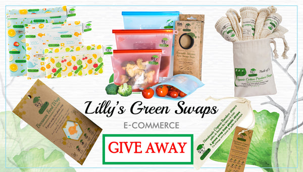 NEW YEAR GIVE AWAY - EZeLilly Stop the Single-Use Plastics Bundle