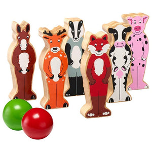 Bowlingset, Landtiere, Fairtrade