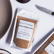 Load image into Gallery viewer, Chaga (Inonotus obliquus) Bioavailable Mushroom Powder