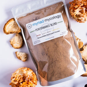 Performance Blend - Bioavailable Mushroom Powder