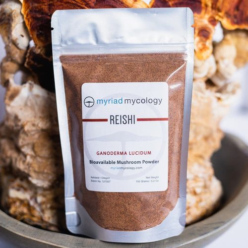 Reishi (Ganoderma lucidum) Bioavailable Mushroom Powder
