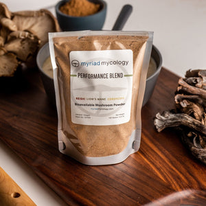 Performance Blend Bioavailable Mushroom Powder