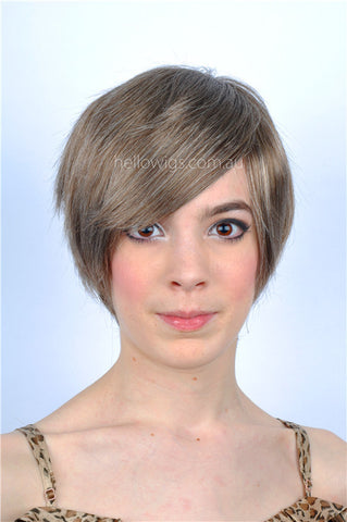 Short fashion grey BOB style wig