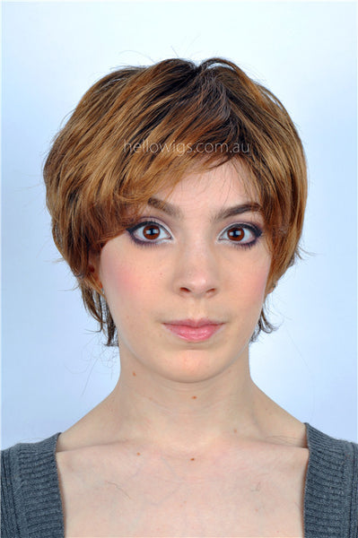 Short Golden wig