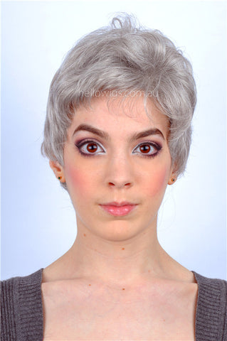 Grey Short Hair wig