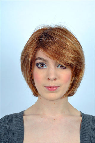Short Golden BoB wig