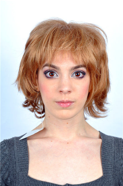 Fashion golden short wigs