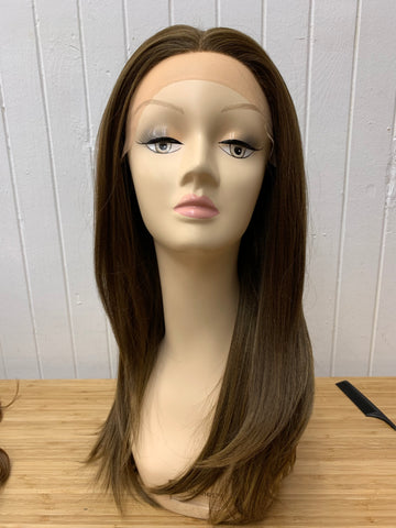 Lace front straight long 385