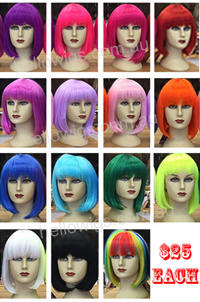 short colourful BOB