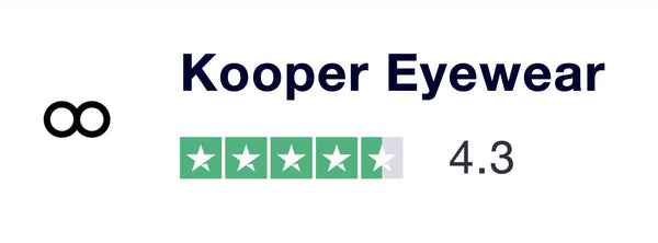 Kooper Eyewear Trust Pilot Reviews