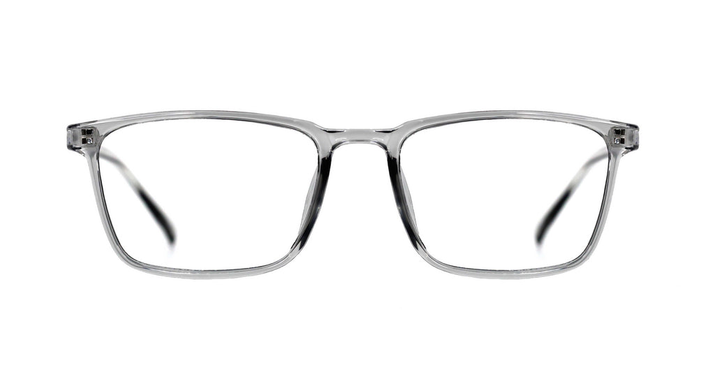 Kooper Blue Light Glasses - Clayton Ice Gray