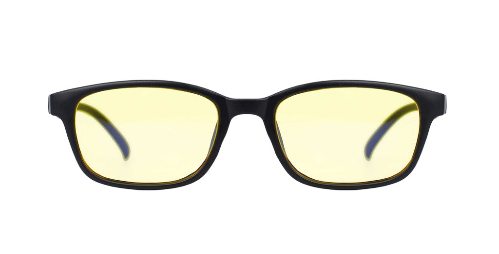 Lennox Game Blue Light Glasses Black Sand - Kooper Eyewear