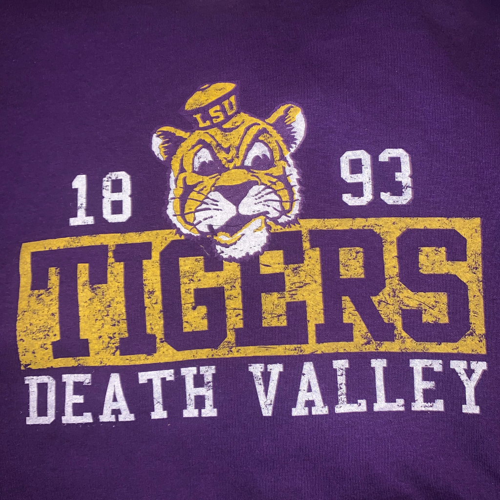 Death Valley Purple and Gold TShirt   Game Day
