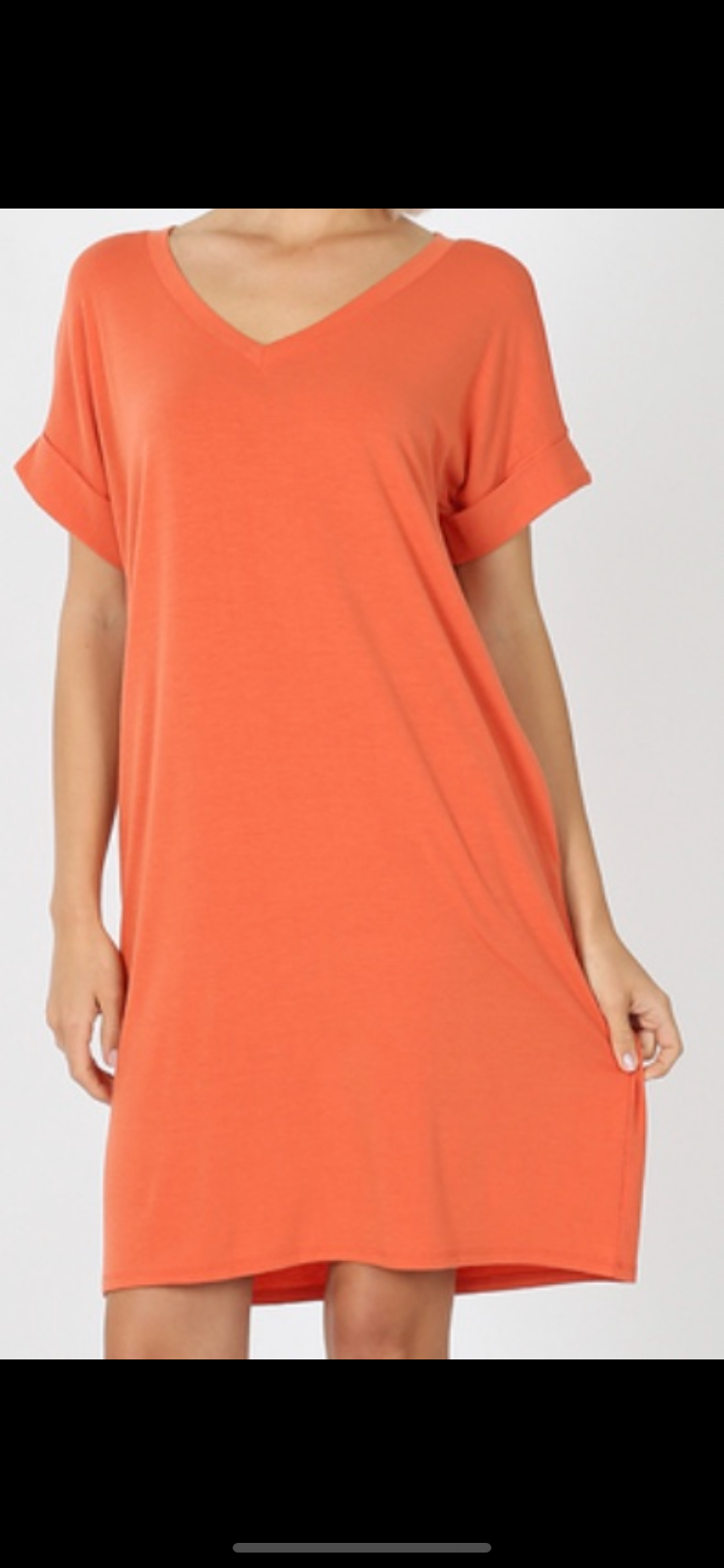 PLUS SIZE Ambi T Shirt Dress- PLUS SIZE Available in 2 Colors
