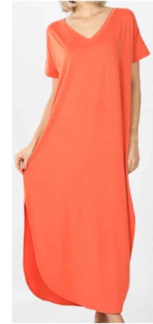 Summer Bliss Maxi - Ankle Length Available in  4 Colors