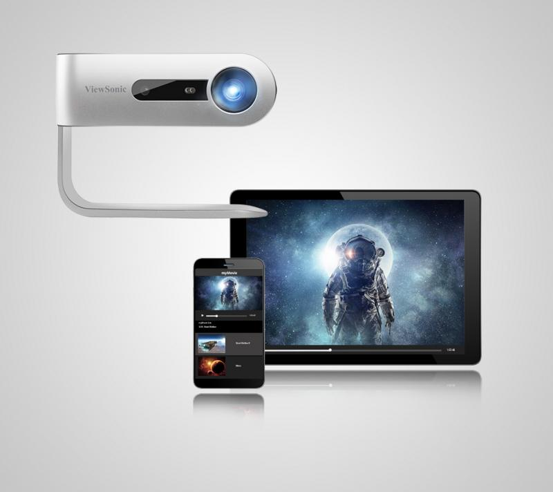 viewsonic smart led projector