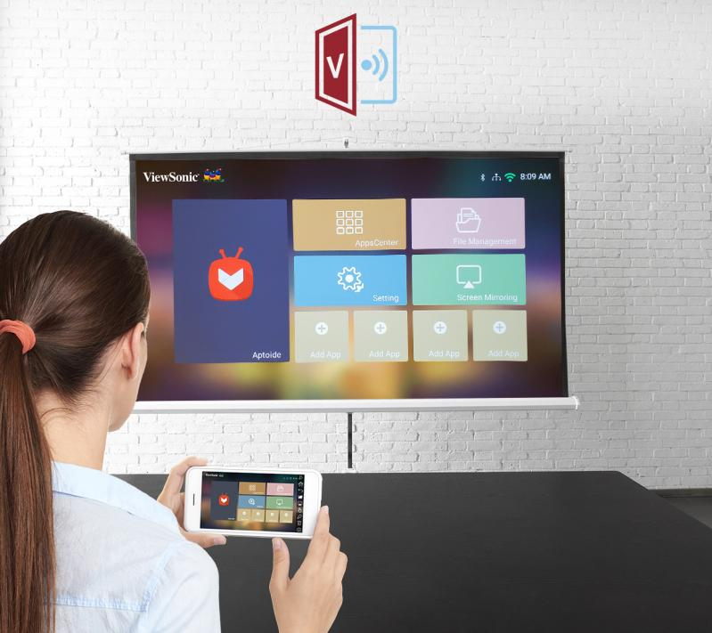 viewsonic smart projector