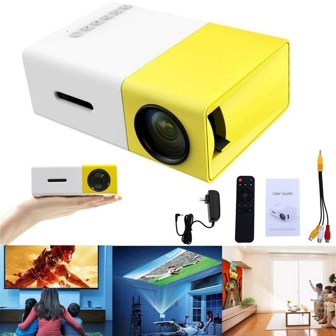 Electronics - TechFX ™ Home Theater Cinema USB HDMI AV SD Mini Portable HD LED Projector