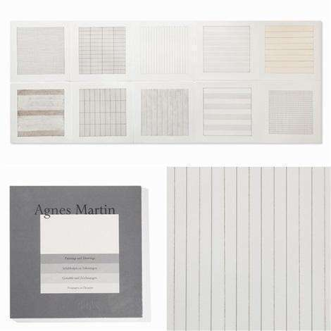 Agnes Martin, Untitled (from Paintings and Drawings: 1974-1990), 1991 (Portfolio of 10 prints) | Lougher Contemporary