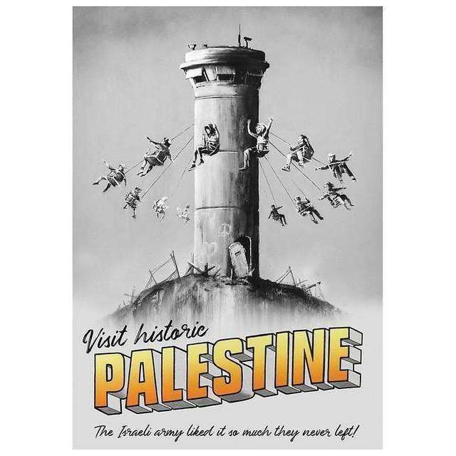 Banksy, Visit Historic Palestine, 2019 | Lougher Contemporary