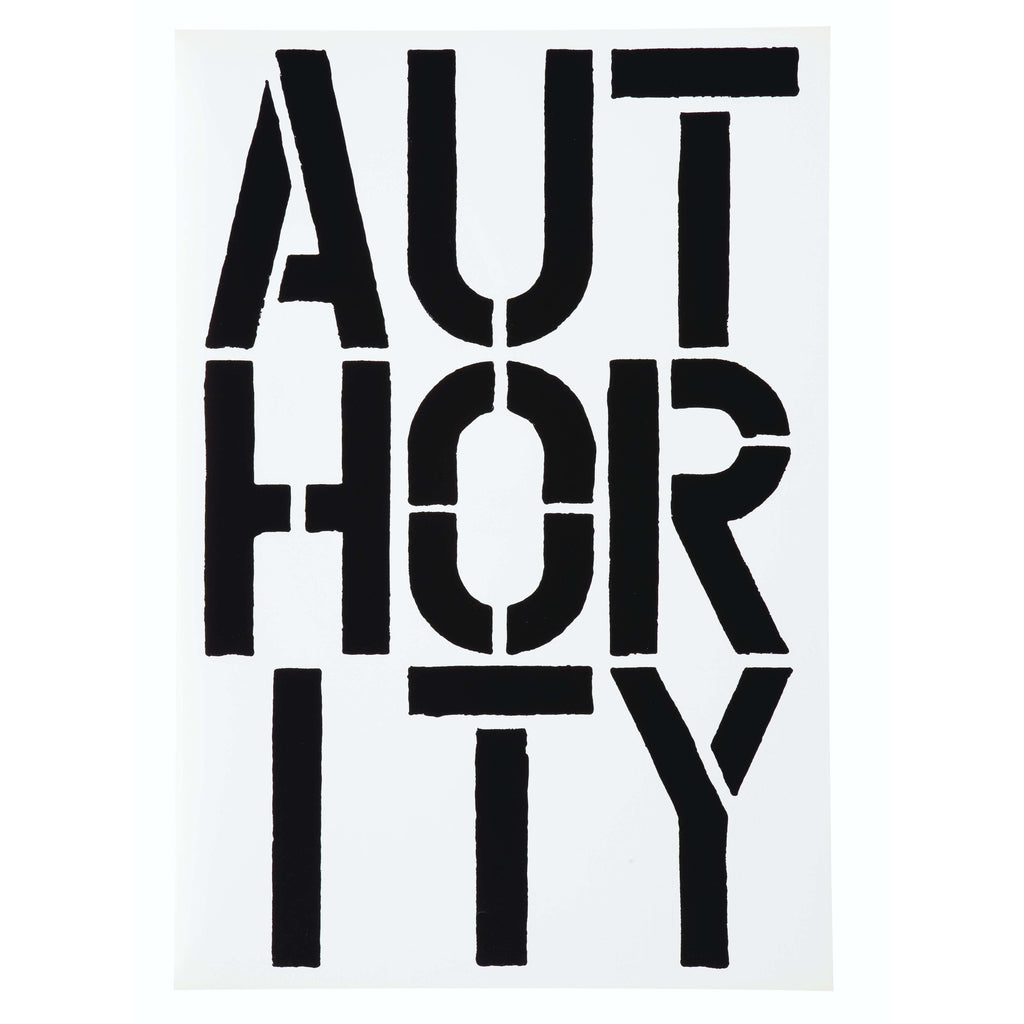 Christopher Wool, Page from Black Book, 1989 | Lougher Contemporary