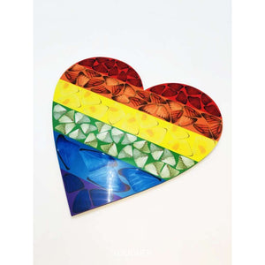 Damien Hirst, H7-4 Butterfly Heart (Small), 2020 | Lougher Contemporary