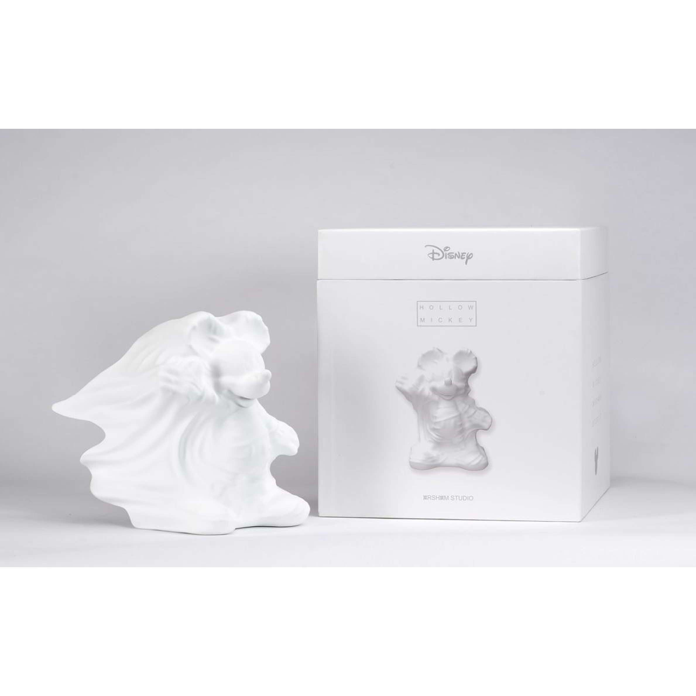 Daniel Arsham x Disney APPortfolio, Hollow Mickey, 2019 | Lougher Contemporary