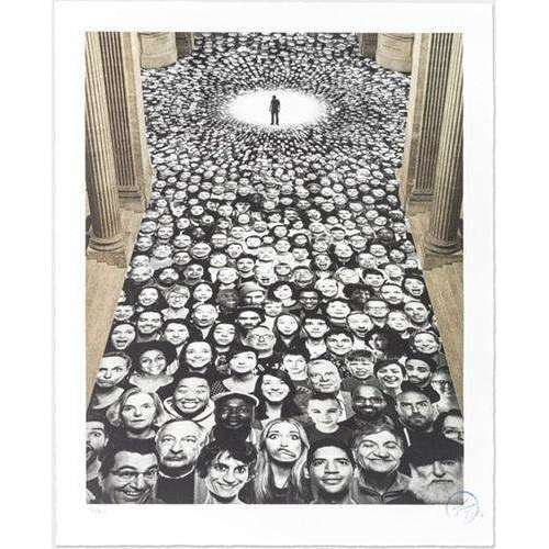 JR, Inside Out, Au Pantheon, NEF, Paris, France, 2014 | Lougher Contemporary